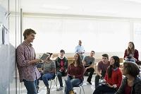 教室の外国人学生