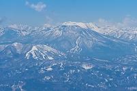 長野県 野沢温泉スキー場より