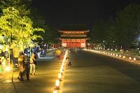 京都府 京の七夕 岡崎プロムナードと平安神宮