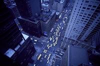 アメリカ合衆国 俯瞰から見たN,Yの交差点