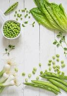 緑の野菜の集合