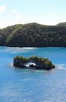 パラオ ロックアイランド ナチュラルアーチ(島)