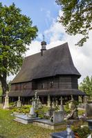 ポーランド リブニツァ・ムロヴァナ村 聖レオナルド聖堂