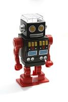 レトロなロボット