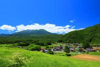 長野県 木曽町 開田高原と御嶽山