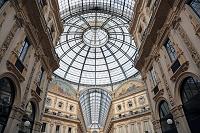 イタリア ミラノ ヴィットーリオ・エマヌエーレ2世のガッレリア