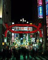 東京都 歌舞伎町界隈夜景