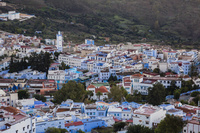 モロッコ シャウエンの街並