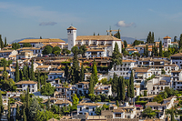 スペイン グラナダ アルバイシン地区 街並