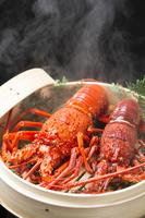 伊勢海老の蒸し料理