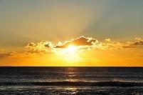三重県 海の日の出