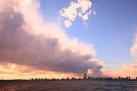 神奈川県 横浜 大黒埠頭からみなとみらい方面