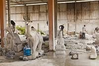 ベトナム ダナン 大理石の像