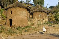 アフリカ エチオピア ラリベラ 住居