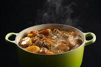 鍋にあるカレー
