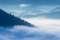 兵庫県 竹田城跡から雲海