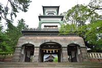 石川県 尾山神社神門(重要文化財)