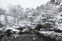 石川県 雪の石川門