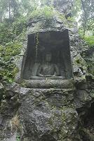 中国 杭州 飛来峰石窟