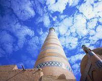 ウズベキスタン イスラム・ホジャのミナレット