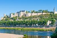 フランス シノン シノン城外観