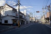 福島県 二本松の街並
