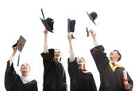 卒業した大学生