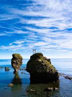 北海道 余市町 えびす岩 大黒岩