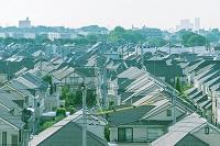 東京都 家並み俯瞰