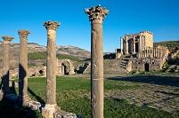 アルジェリア ジェミラ遺跡 セプティミウス帝の神殿