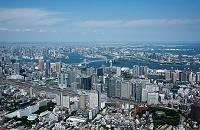 東京都 品川駅周辺よりお台場、東京港