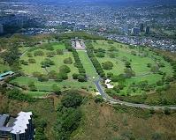 ハワイ・オアフ島 パンチボウル(国立太平洋記念墓地)