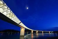 熊本県天草市牛深ハイヤ大橋 ライトアップ