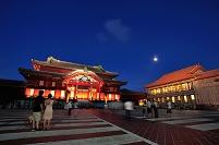 沖縄 夜の首里城 (焼失前)