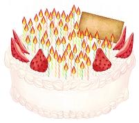 60歳用バースデーケーキ