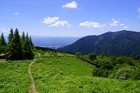 奈良県 葛城山のダイヤモンドトレールと金剛山