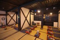秋田県 鶴の湯温泉囲炉裏のある部屋