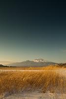 長野県 冬の浅間山
