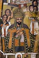 16世紀に描かれたラリベラ/聖ゴルゴダ・ミカエル教会