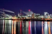 広島の工場夜景