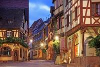 フランス アルザス地方 ワイン街道沿いのリクヴィール