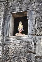 カンボジア アンコール・トム バイヨン