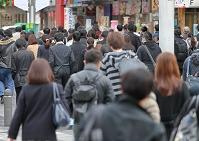 東京都 朝の通勤イメージ