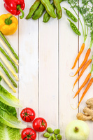 新鮮な野菜の集合