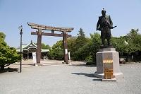 大阪府 大阪城公園内 豊國神社 豊臣秀吉公像