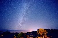 アメリカ合衆国 ユタ 満天の星空