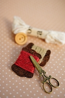 ボタンと糸とハサミ